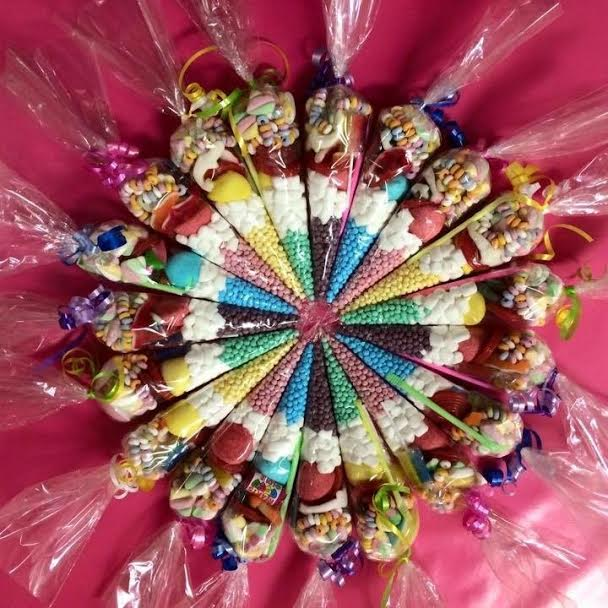Cakes Made Of Sweets & Sweet Cones Dartford London Kent