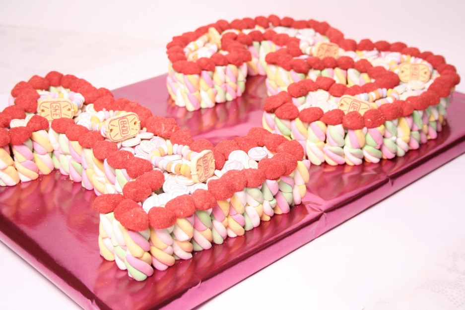 Sweet Cake Images : Double Number Or Letter Sweet Cake Dartford Kent Sussex ...