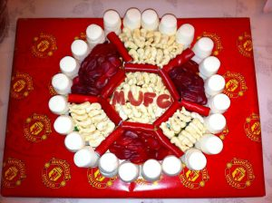Football Made From Sweets