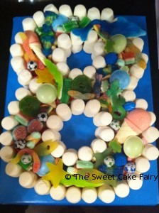 8th Birthday sweet cake Bromley