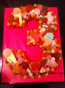 Girls 3rd Birthday Cake