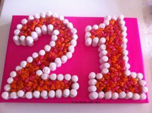 21st Birthday Cakes