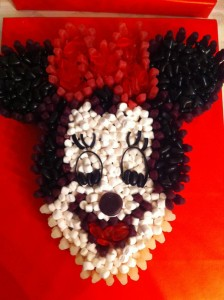 Minnie Mouse Made of Sweets