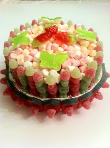 Mothers Day Cake Made of Sweets