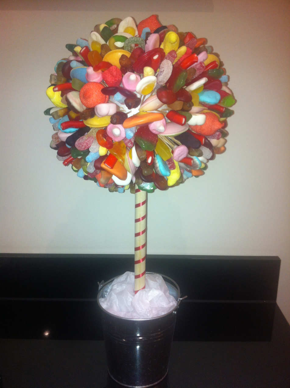 sweet trees cakes made of sweets call free 0800 756 5545