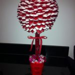 Haribo Heart Throb Tree, complete with Love Hearts in the bucket and Cherry Lips in the stem