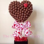 Valentine maltesers heart tree