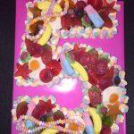 Single Number Sweet Cake (2)