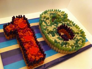 16th Birthday Sweet Cake