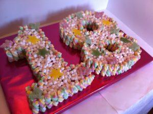 18th Birthday sweet cake