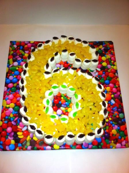 6th Birthday sweet cake girl