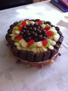 Chocolate and Strawberry Gateau