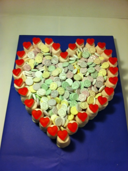 Heart Made of Sweets