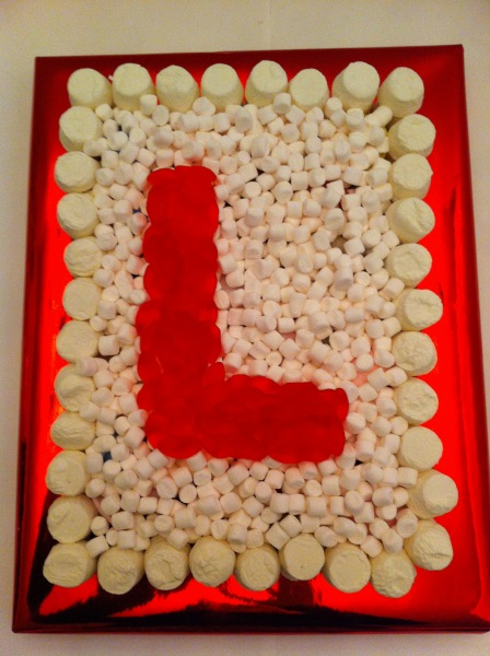 Purchase a L Plate cake ... & Letter L Plate For Hen Night | Dartford Pre-Filled Sweet Cones ...