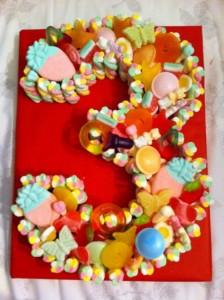 3rd Birthday sweet cake girl