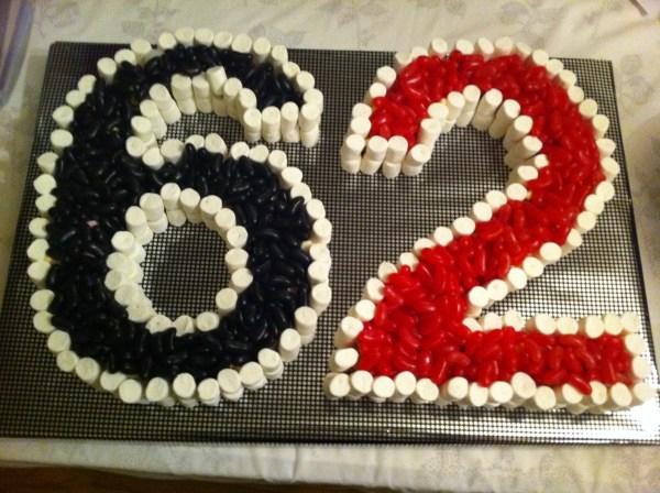 62nd Birthday Cake
