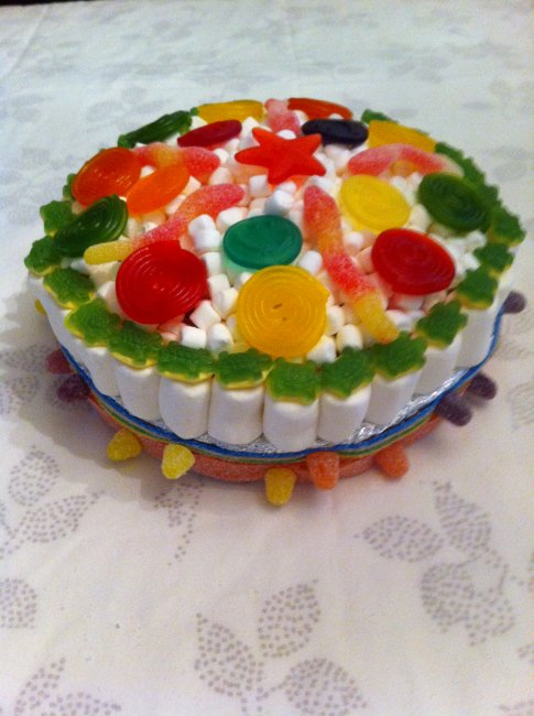 Cake Made of Sweets