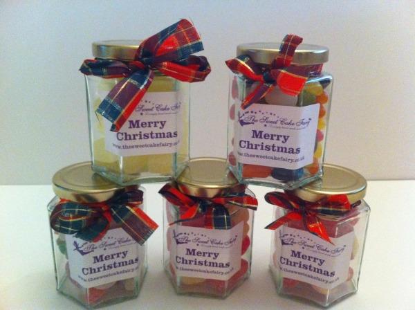 Christmas Jar of Sweets