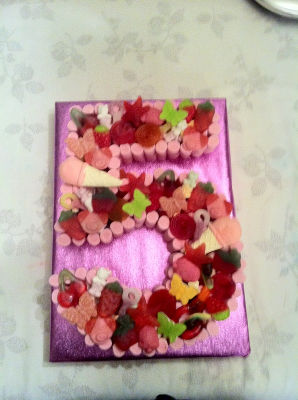 Girls 5th Birthday Cake