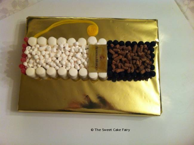 Cigarette Sweets Cake