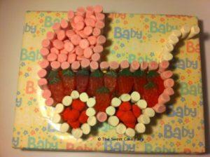 Pram Made of Sweets