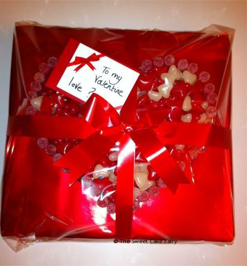 Valentine Sweet Cake Wrapped