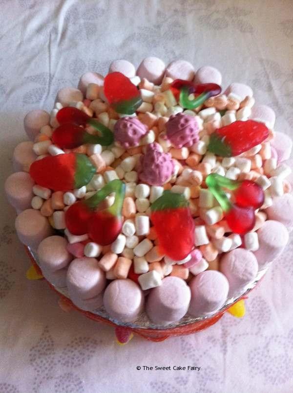 Cake Made of Sweeties