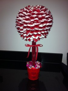 Haribo Heart Thron Tree
