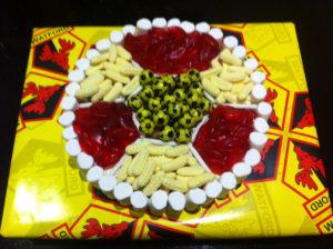 Watford football cake