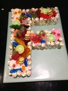 Letter Sweet Cake