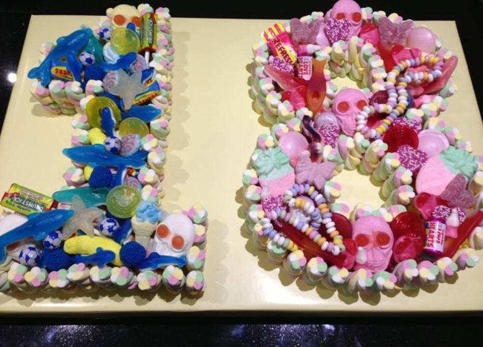 18th Sweet Cake