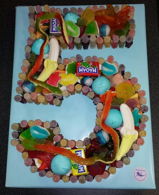A Selection Of Jelly Baby Edged Sweet Cakes Dartford Pre