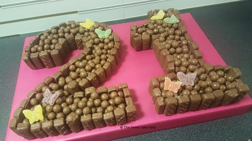 Double Chocolate Cake Dartford Pre Filled Sweet Cones Sweet Cakes