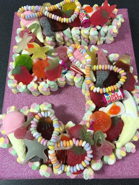 Sweet Cakes Cakes Made Of Sweets Call Free 0800 756 5545